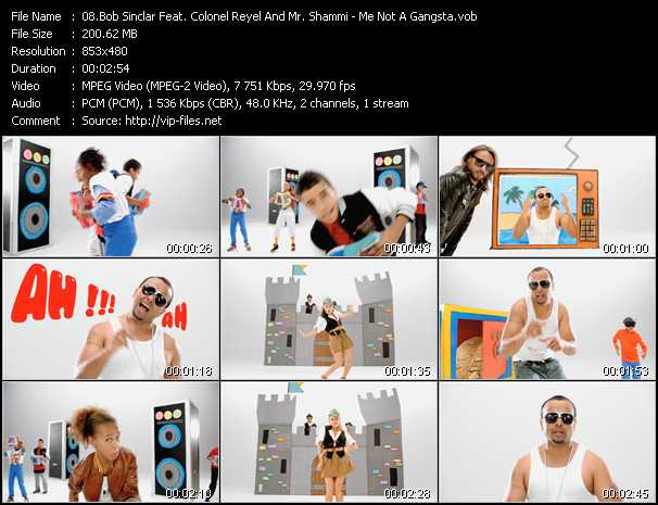 Bob Sinclar Feat. Colonel Reyel And Mr. Shammi video screenshot