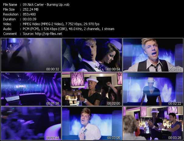 Nick Carter video screenshot
