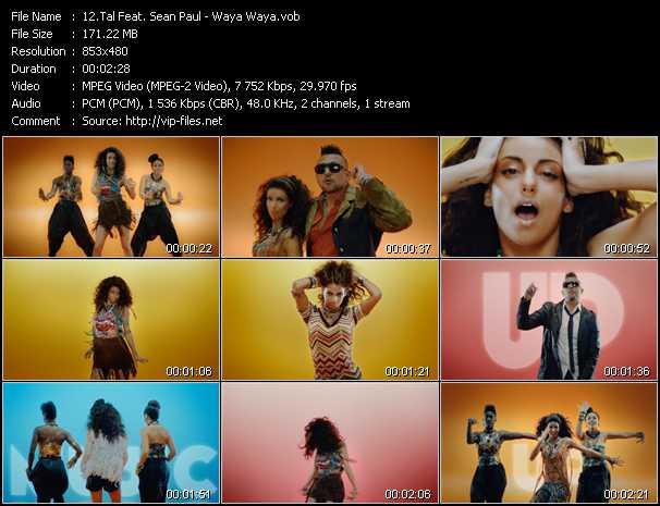 Tal Feat. Sean Paul video screenshot