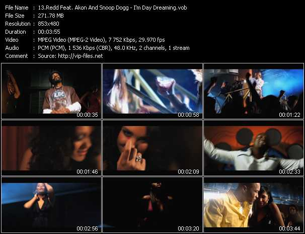 Redd Feat. Akon And Snoop Dogg video screenshot