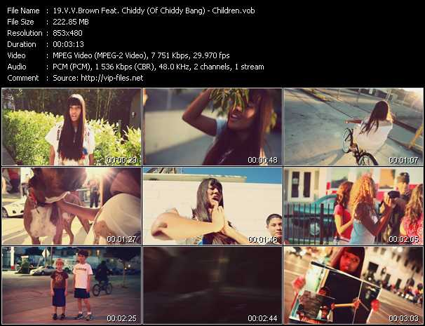 VV Brown Feat. Chiddy (Of Chiddy Bang) video screenshot