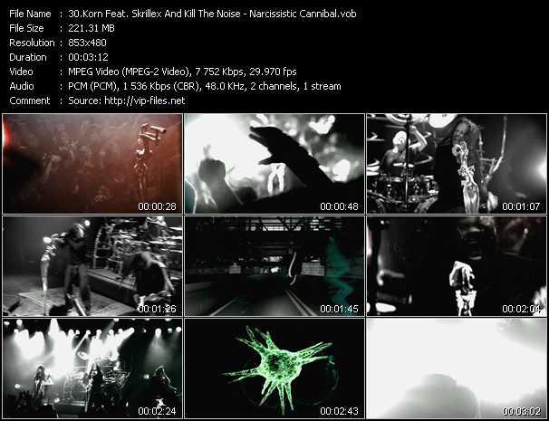 Korn Feat. Skrillex And Kill The Noise video screenshot