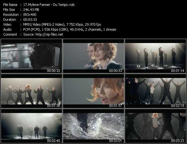 Mylene Farmer video screenshot