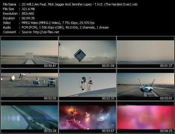 video T.H.E. (The Hardest Ever) screen