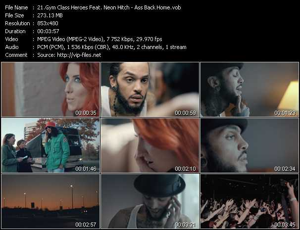 Gym Class Heroes Feat. Neon Hitch video screenshot
