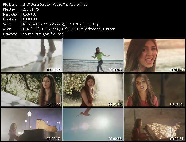 Victoria Justice video screenshot