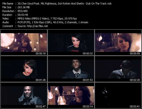 Cher Lloyd Feat. Mic Righteous, Dot Rotten And Ghetts video screenshot