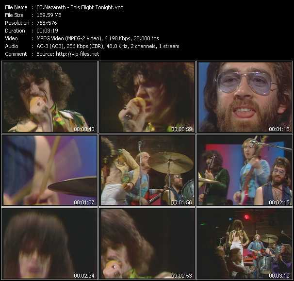 Nazareth video screenshot
