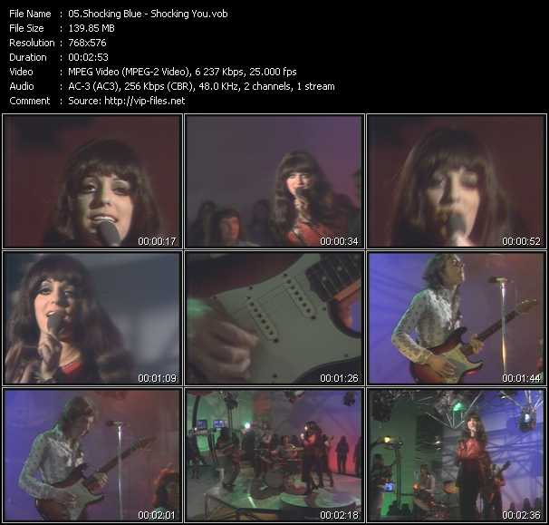 Shocking Blue video screenshot