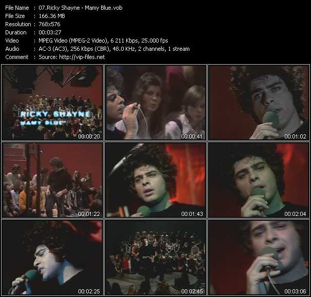 Ricky Shayne video screenshot