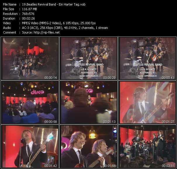 Beatles Revival Band video screenshot