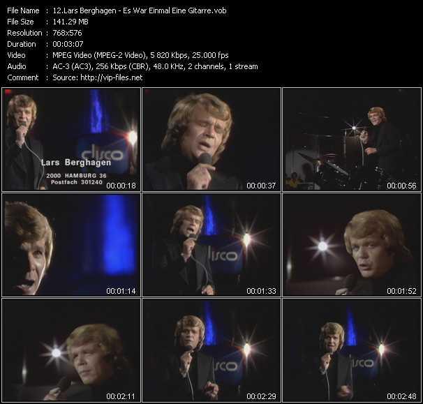 Lars Berghagen video screenshot