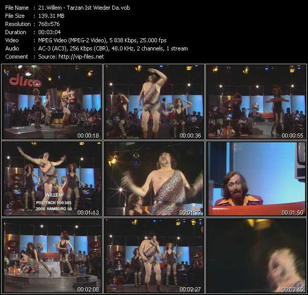 Willem video screenshot