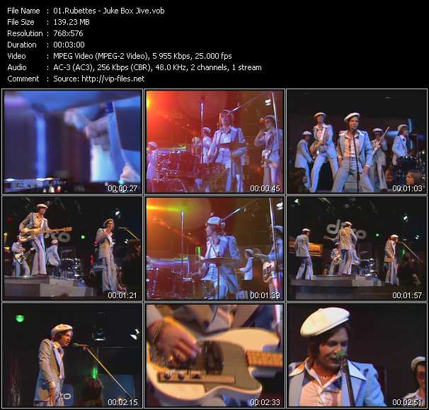 Rubettes video screenshot