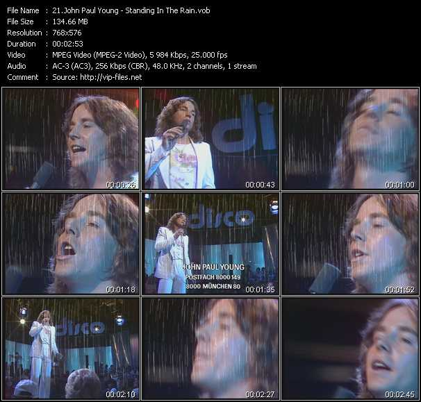 John Paul Young video screenshot