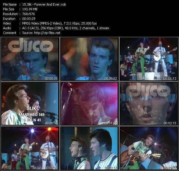 Slik (Midge Ure) video screenshot