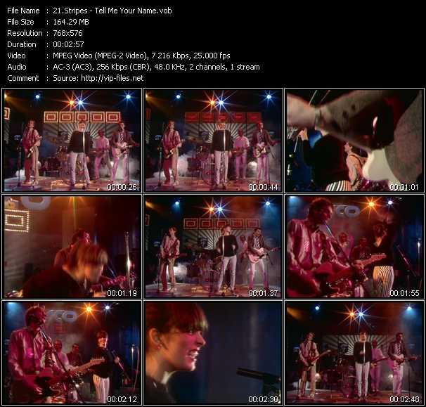 Stripes video screenshot