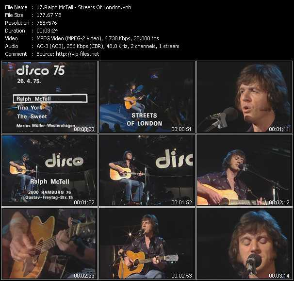 Ralph McTell video screenshot