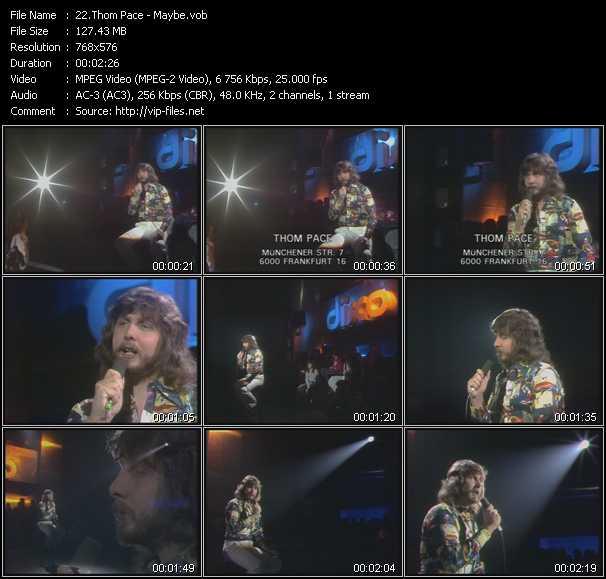 Thom Pace video screenshot