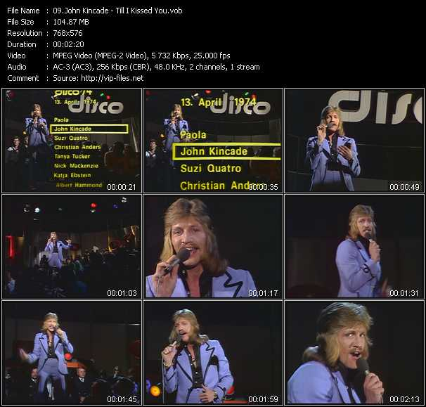 John Kincade video screenshot
