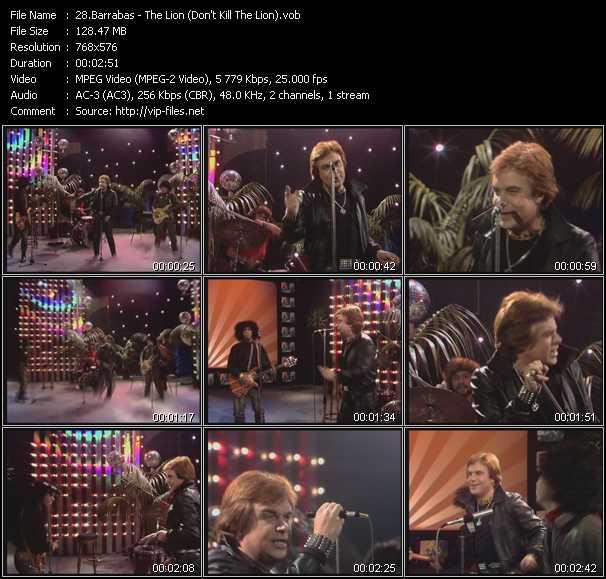 Barrabas video screenshot