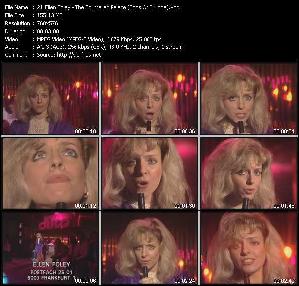 Ellen Foley video screenshot