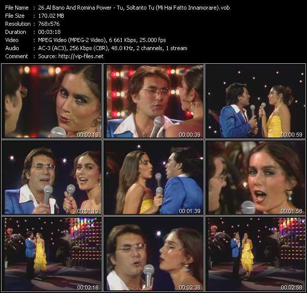 Al Bano And Romina Power video screenshot
