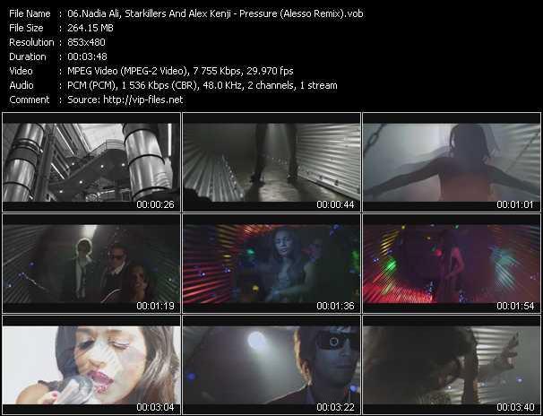 video Pressure (Alesso Remix) screen