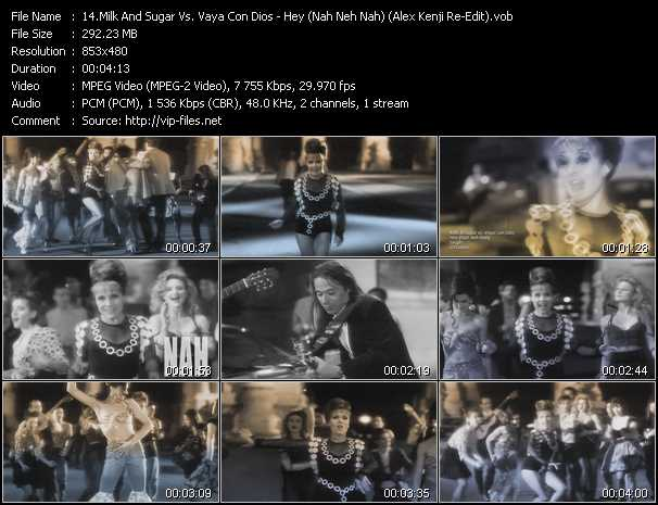 Milk And Sugar Vs. Vaya Con Dios video screenshot