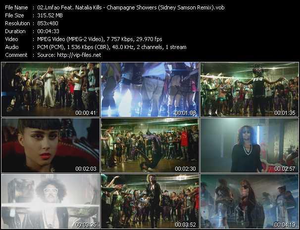 Lmfao Feat. Natalia Kills video screenshot