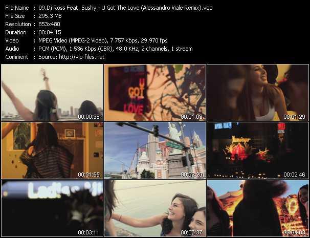 Dj Ross Feat. Sushy video screenshot