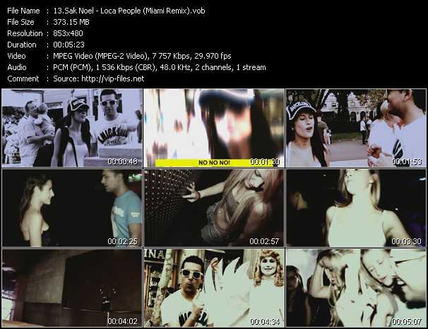 video Loca People (Miami Remix) screen