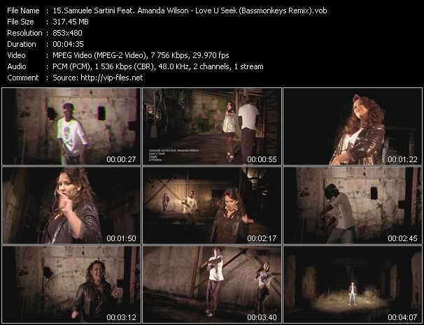 Samuele Sartini Feat. Amanda Wilson video screenshot