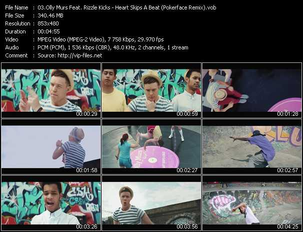 Olly Murs Feat. Rizzle Kicks video screenshot
