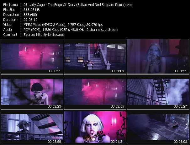 video The Edge Of Glory (Sultan And Ned Shepard Remix) screen