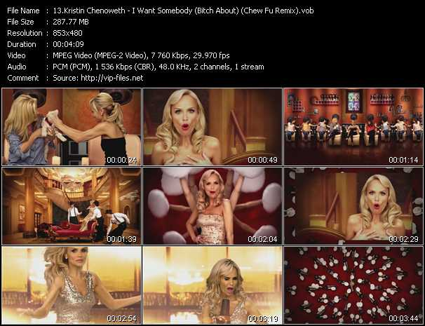 Kristin Chenoweth video screenshot