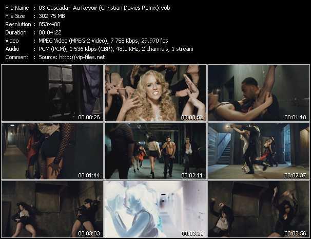 video Au Revoir (Christian Davies Remix) screen
