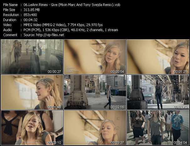 video Give (Mixin Marc And Tony Svejda Remix) screen