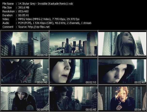 Skylar Grey video screenshot