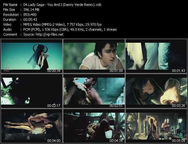 video You And I (Danny Verde Remix) screen
