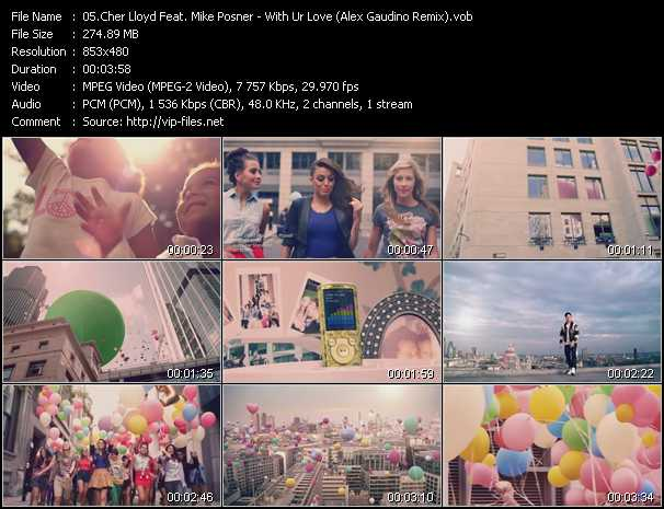 Cher Lloyd Feat. Mike Posner video screenshot