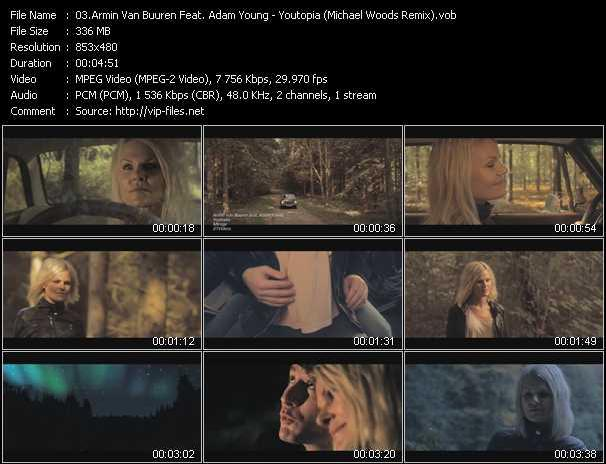 Armin Van Buuren Feat. Adam Young video screenshot