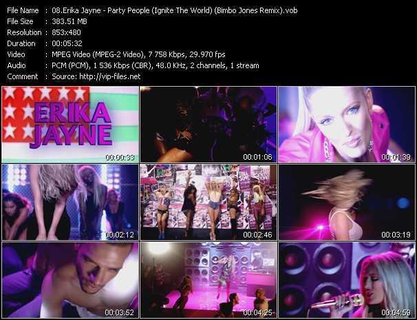 Erika Jayne video screenshot