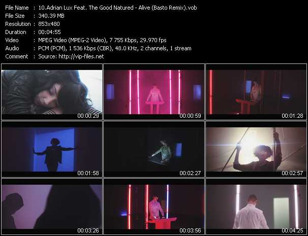 Adrian Lux Feat. The Good Natured video screenshot