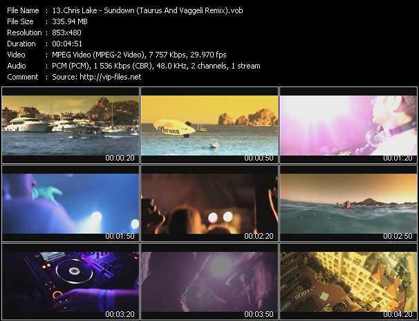 Chris Lake video screenshot