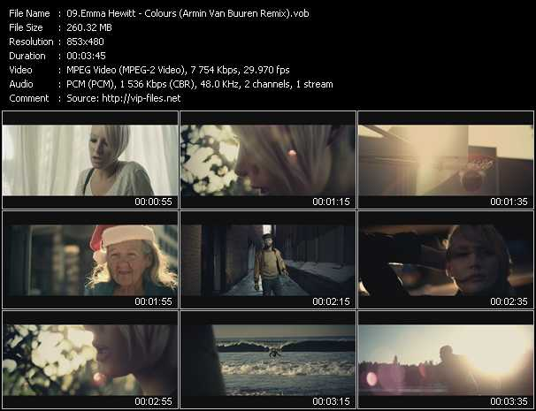 Emma Hewitt video screenshot