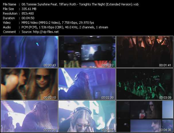 Tommie Sunshine Feat. Tiffany Roth video screenshot