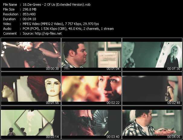 De-Grees video screenshot
