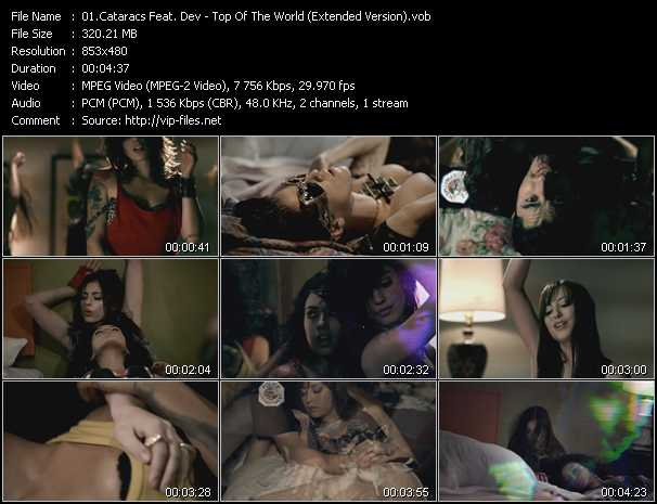 Cataracs Feat. Dev video screenshot