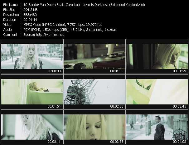 Sander Van Doorn Feat. Carol Lee video screenshot